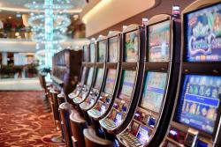 Las Vegas, casino, machines à sous